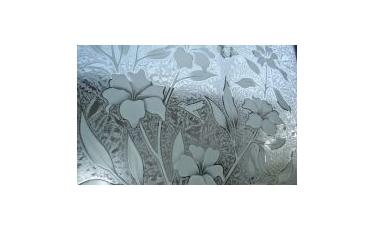 Пескоструйная обработка стекла фото