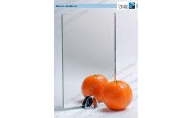 Зеркало серебряное фото