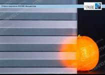 Стекло узорчатое Флутис бесцветное фото