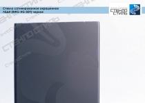 Стекло сатинированное окрашенное Леди (BWG-HG-029) черное фото