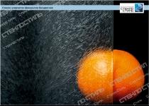 Стекло узорчатое Шиншилла бесцветное фото
